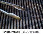 grill utensils tools fork tongs ... | Shutterstock . vector #1102491383