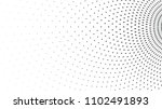 halftone dots  radial gradient... | Shutterstock .eps vector #1102491893