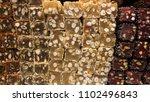 very delicious turkish delight... | Shutterstock . vector #1102496843