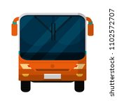 front bus city transport... | Shutterstock .eps vector #1102572707