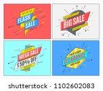 retro futuristic promotion... | Shutterstock .eps vector #1102602083