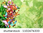 beads  colorful beads for... | Shutterstock . vector #1102676333