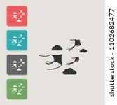 kite   vector icon. symbol for...