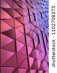 dark blue black abstract 3d...   Shutterstock . vector #1102708373