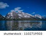 grand teton national park ... | Shutterstock . vector #1102719503
