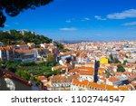 view from miradouro sophia de... | Shutterstock . vector #1102744547