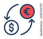 transfer exchange currency    Shutterstock .eps vector #1102762757