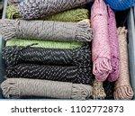 bundles of black and pastel... | Shutterstock . vector #1102772873