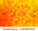 light yellow  orange vector... | Shutterstock .eps vector #1102807433