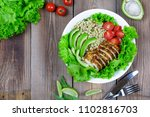 healthy food. healthy lifestyle ... | Shutterstock . vector #1102816703