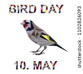 bird day  world bird day | Shutterstock .eps vector #1102826093