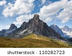 passo giau   dolomites   italy | Shutterstock . vector #110282723