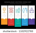 5 vector icons such as speed... | Shutterstock .eps vector #1102922783