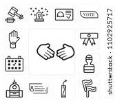 set of 13 icons such as deal ...