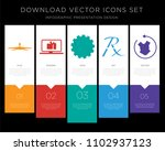 5 vector icons such as ceiling... | Shutterstock .eps vector #1102937123