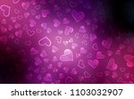 dark purple  pink vector... | Shutterstock .eps vector #1103032907