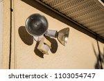 flood light lamp motion... | Shutterstock . vector #1103054747