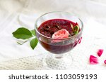 aromatic sweet red jam from... | Shutterstock . vector #1103059193