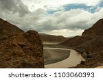 atlas anammas. atlas mountains... | Shutterstock . vector #1103060393