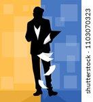 vector illustration of... | Shutterstock .eps vector #1103070323
