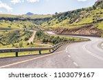 the landscape on katkop pass...   Shutterstock . vector #1103079167