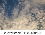 sky blue clouds sunset... | Shutterstock . vector #1103138933