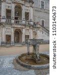 villa d'este  tivoli  lazio... | Shutterstock . vector #1103140673