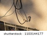 cable cord internet ethernet... | Shutterstock . vector #1103144177