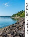 a landscape shot of a rocky... | Shutterstock . vector #1103147267