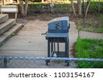 side view angle of grill... | Shutterstock . vector #1103154167