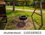 tire swing playground park... | Shutterstock . vector #1103185823