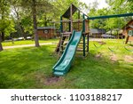 playground play set swing slide ... | Shutterstock . vector #1103188217