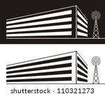 vector silhouette illustration...   Shutterstock .eps vector #110321273