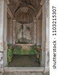 villa d'este  tivoli  lazio... | Shutterstock . vector #1103215307