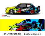 car livery graphic vector....   Shutterstock .eps vector #1103236187