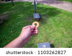 washer toss game fun bag yard... | Shutterstock . vector #1103262827