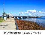 woody point  australia   may 30 ... | Shutterstock . vector #1103274767