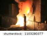 casting is a manufacturing... | Shutterstock . vector #1103280377