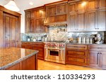 luxury pine wood beautiful... | Shutterstock . vector #110334293