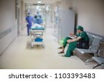 blurred of medical team moving... | Shutterstock . vector #1103393483