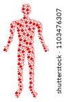 medication granule human avatar.... | Shutterstock .eps vector #1103476307