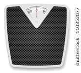 bathroom weight scale.... | Shutterstock .eps vector #110352077