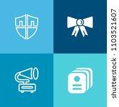 modern  simple vector icon set... | Shutterstock .eps vector #1103521607