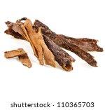 Cinnamon Sticks Isolated On...