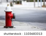 red fire hydrant isolated with...