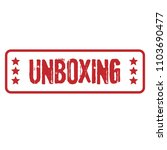 red grunge rubber stamp with... | Shutterstock .eps vector #1103690477