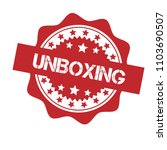 red grunge rubber stamp with... | Shutterstock .eps vector #1103690507