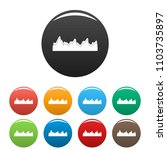 equalizer song radio icon.... | Shutterstock .eps vector #1103735897