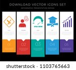 5 vector icons such as after...   Shutterstock .eps vector #1103765663