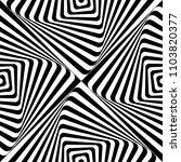 abstract vector seamless moire... | Shutterstock .eps vector #1103820377